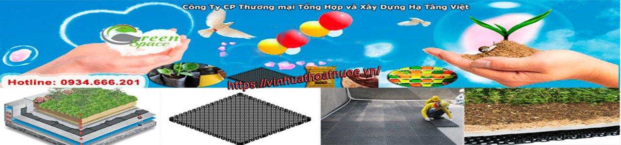 Giới thiệu Hạ Tầng Việt - Vỉ nhựa thoát nước