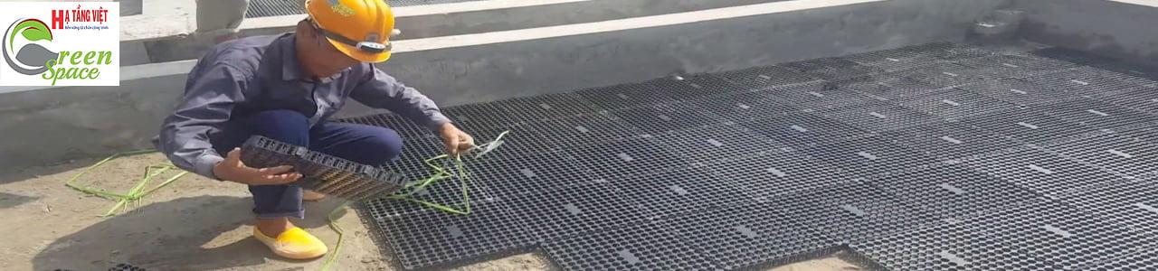 Nhân công lắp đặt vỉ nhựa thoát nước