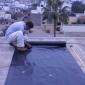 Dán màng chống thấm HDPE