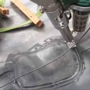 Hàn đùn màng chống thấm HDPE