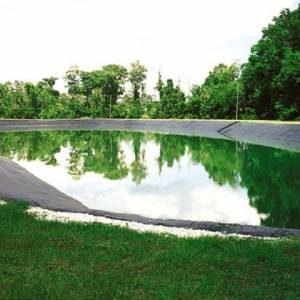 Màng chống thấm HDPE làm hồ chứa nước sinh học